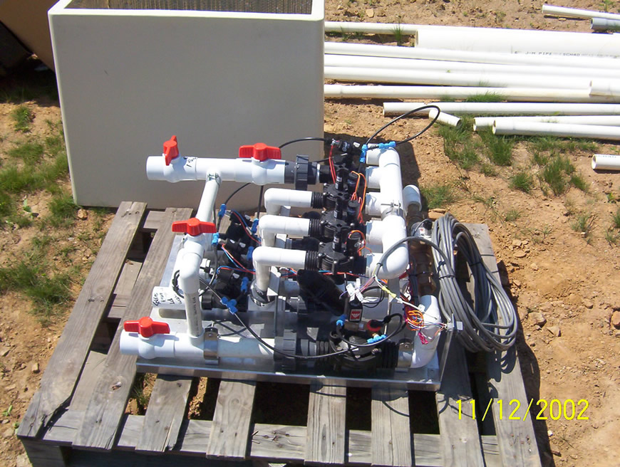 Simple Open Center Hydraulic Circuit