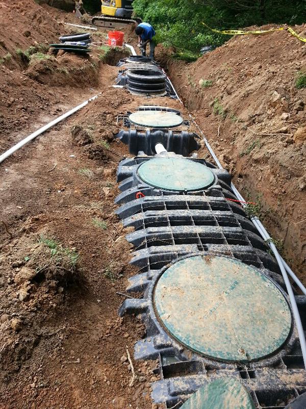 Drip Installation Septic Amp Pump Tanks Predoc Inc