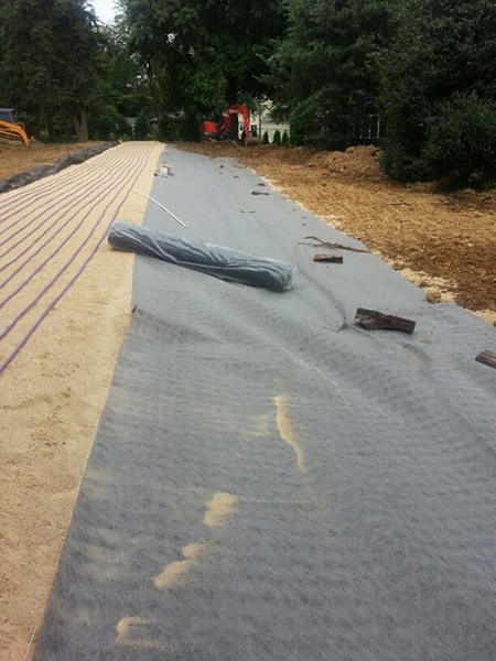 Geotextile Layer Cover